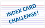 Index Card Challenge